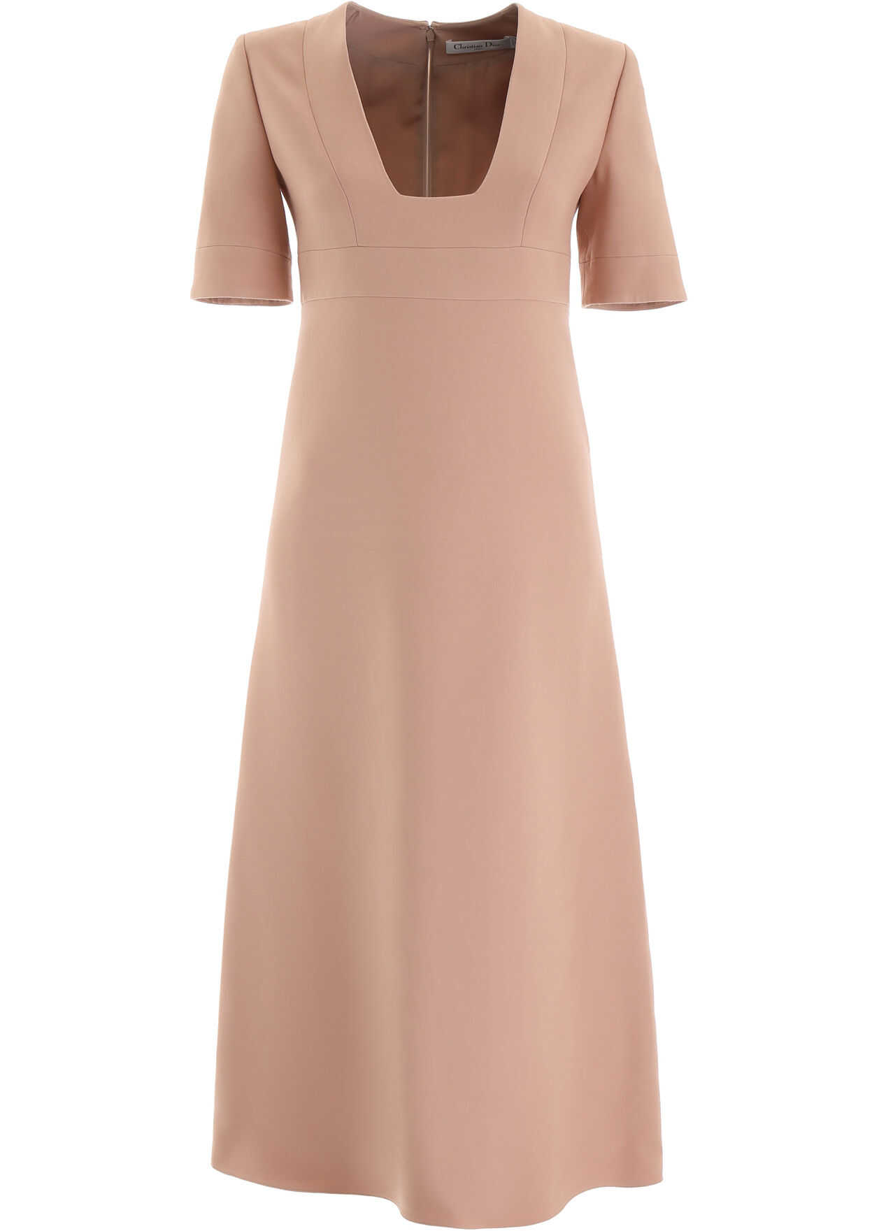 Dior Wool And Silk Dress ROSE