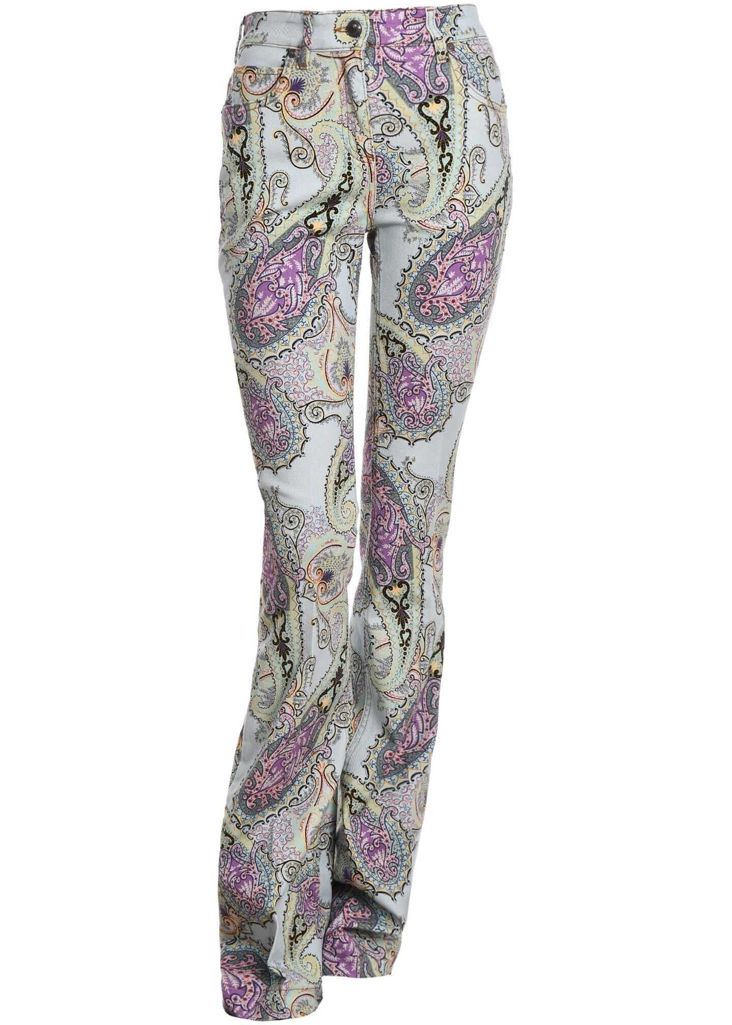 ETRO Cotton Jeans MULTICOLOR