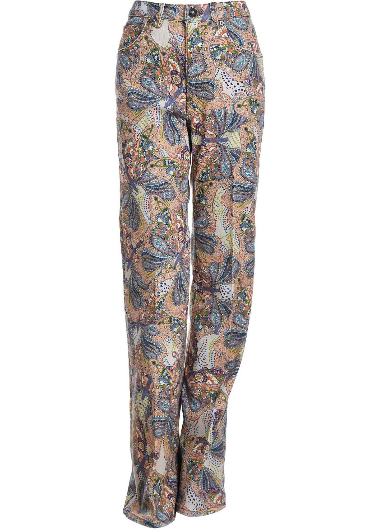 ETRO Cotton Jeans PINK