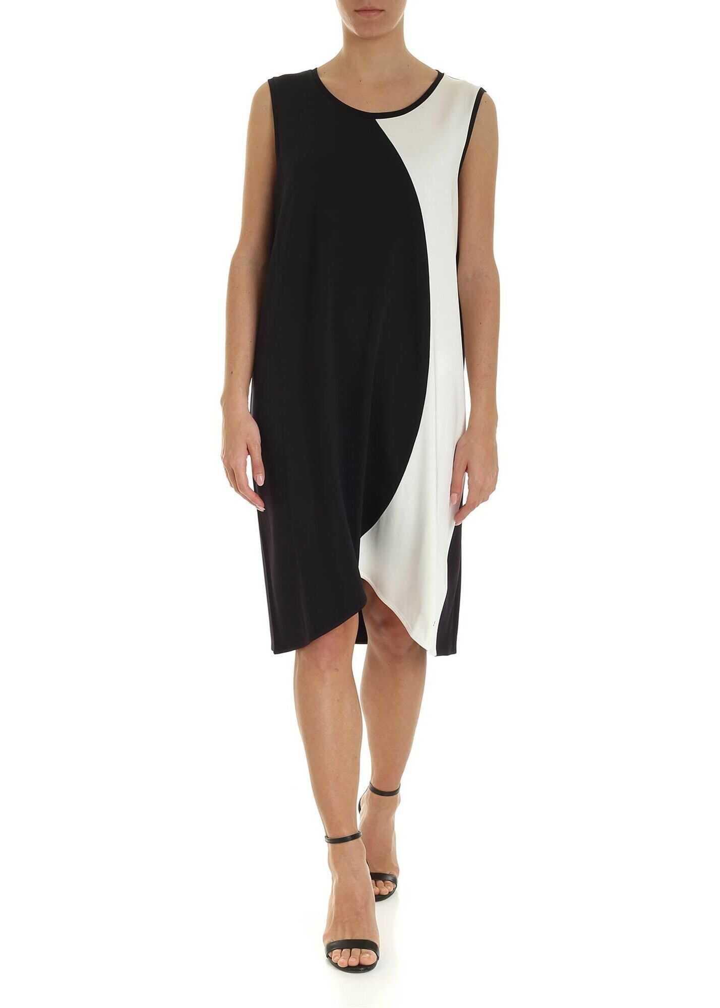 Fay Viscose Dress BLACK