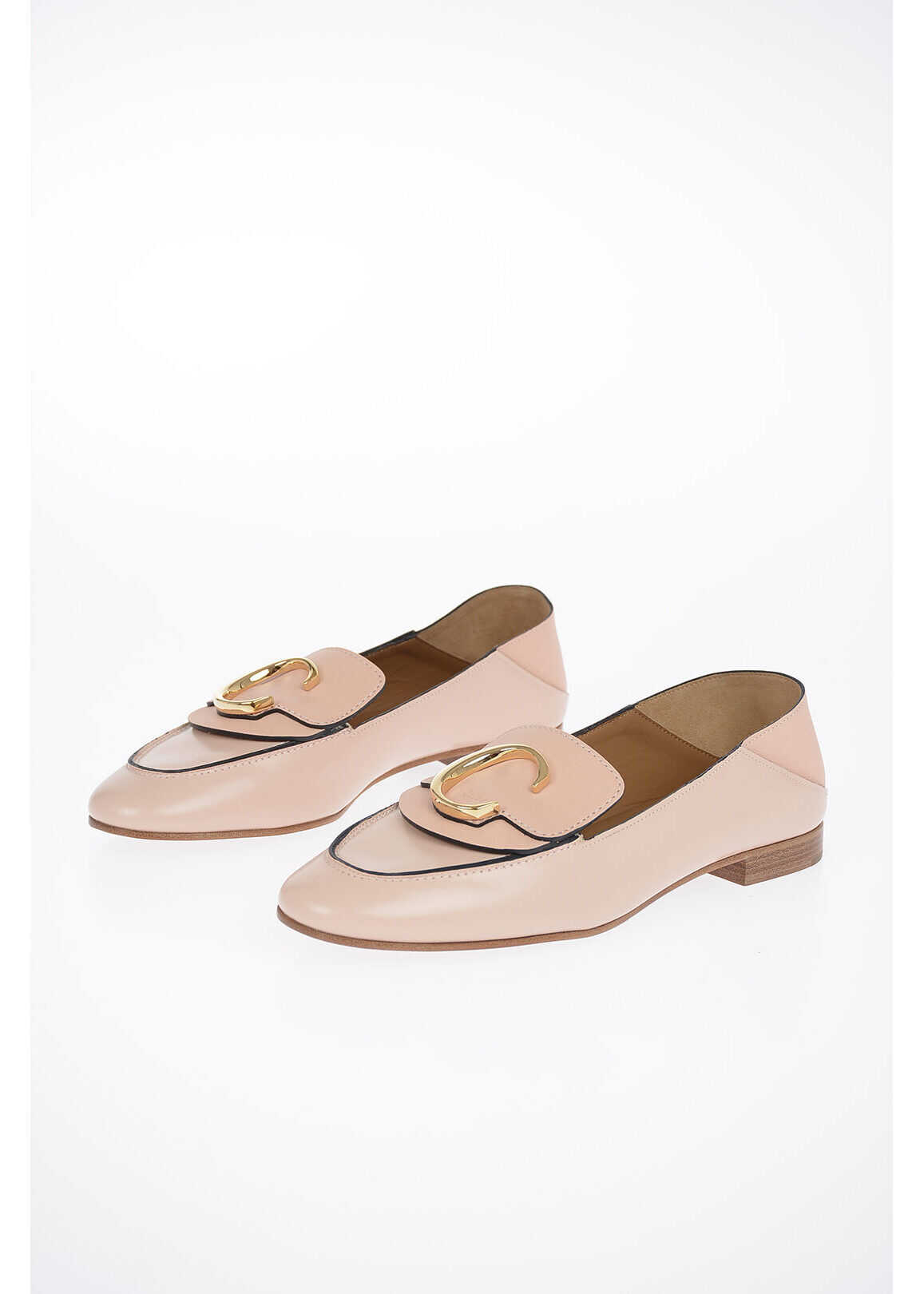 Chloe Leather Loafer PINK