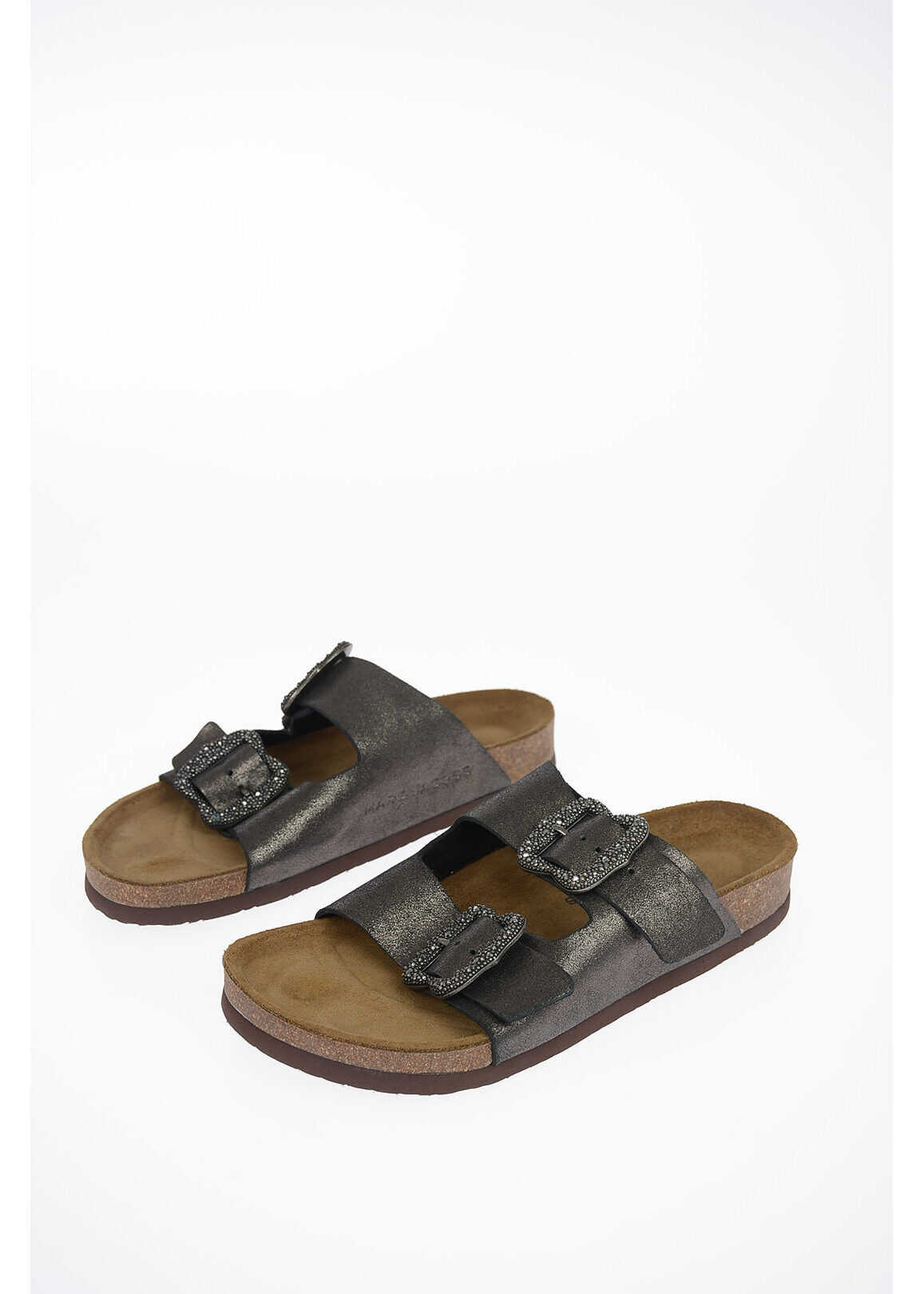 Marc Jacobs REDUX GRUNGE leather sandals GRAY