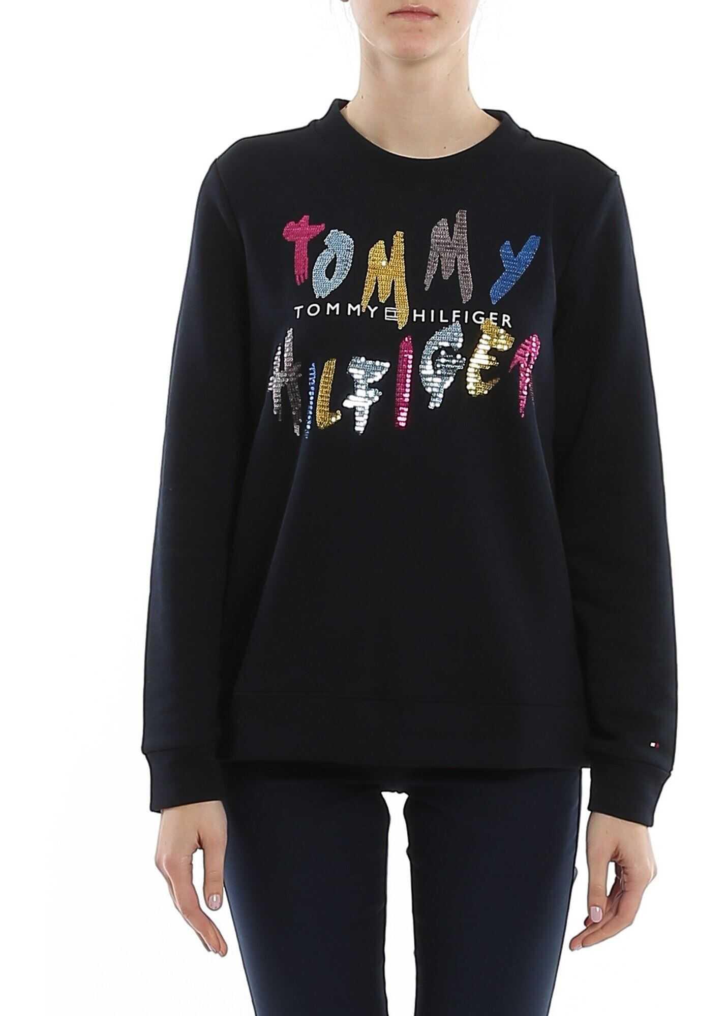 Tommy Hilfiger Roxy Sweatshirt In Desert Sky Color Blue
