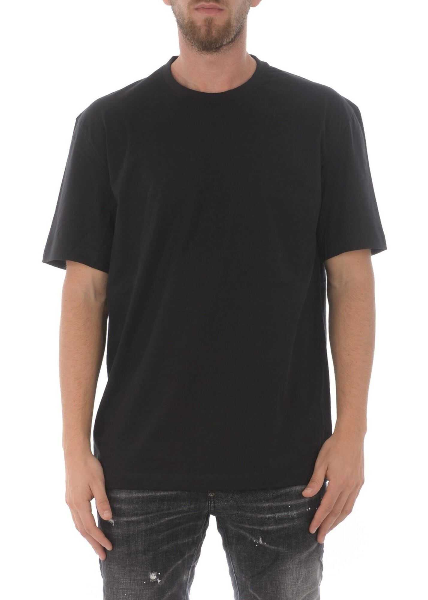 Y-3 Y-3 Print T-Shirt In Black Black