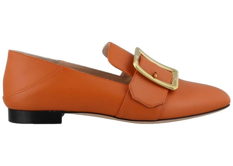 Bally Janelle Slippers In Orange Orange