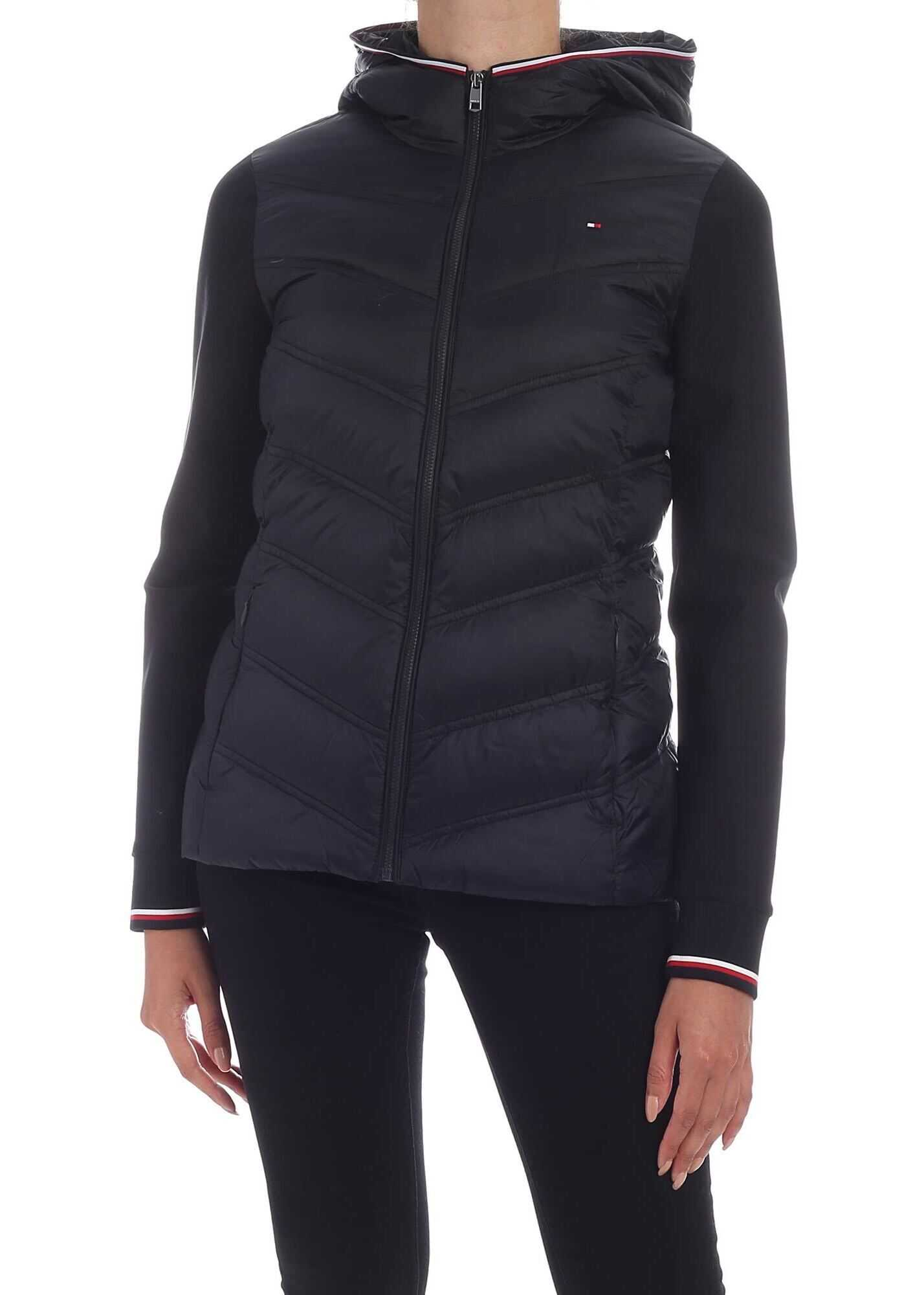 Tommy Hilfiger Bella Down Jacket In Black Black