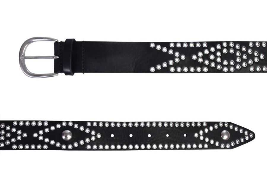Isabel Marant Leather Belt BLACK