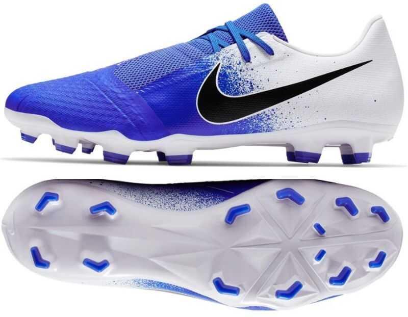 Nike AO0566104 White/Blue imagine b-mall.ro