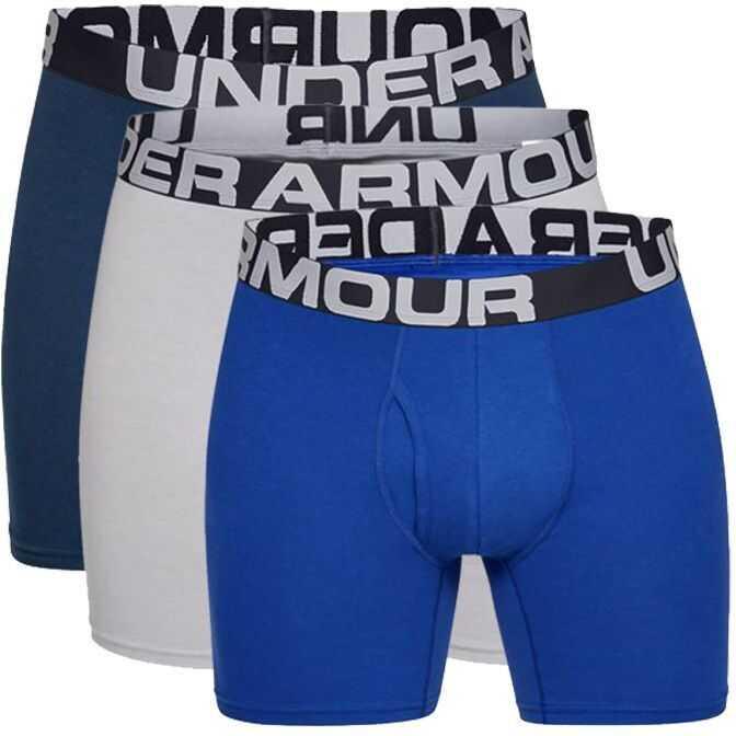 Under Armour 1327426-400 White/Blue imagine