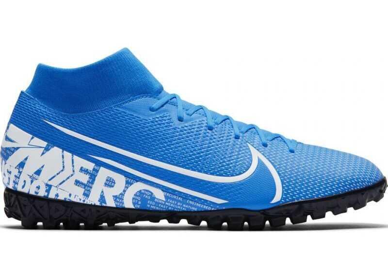 Nike AT7978414 White/Blue imagine b-mall.ro