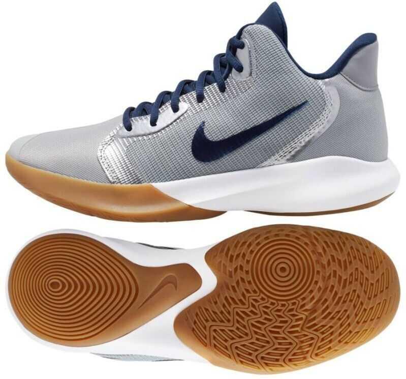 Nike AQ7495008 Gray/Silver imagine b-mall.ro