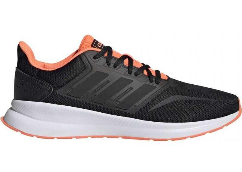 adidas EG8609 Black/Orange imagine b-mall.ro