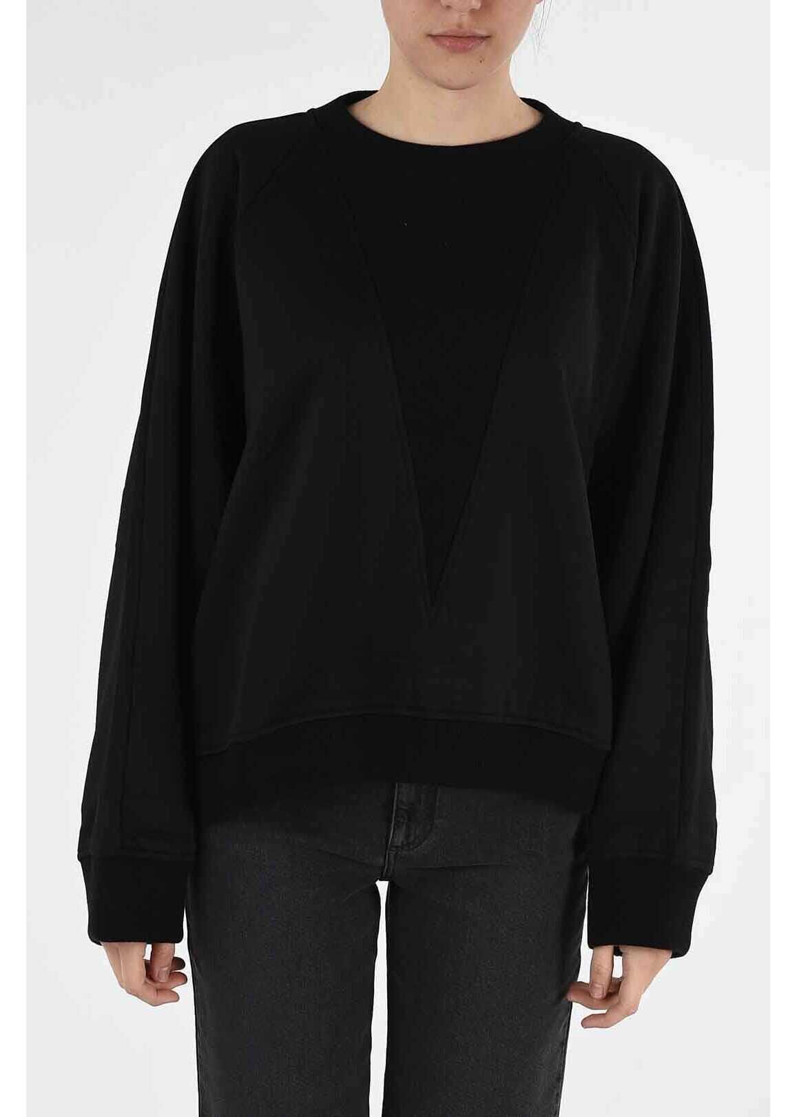 Givenchy crew-neck sweatshirt BLACK