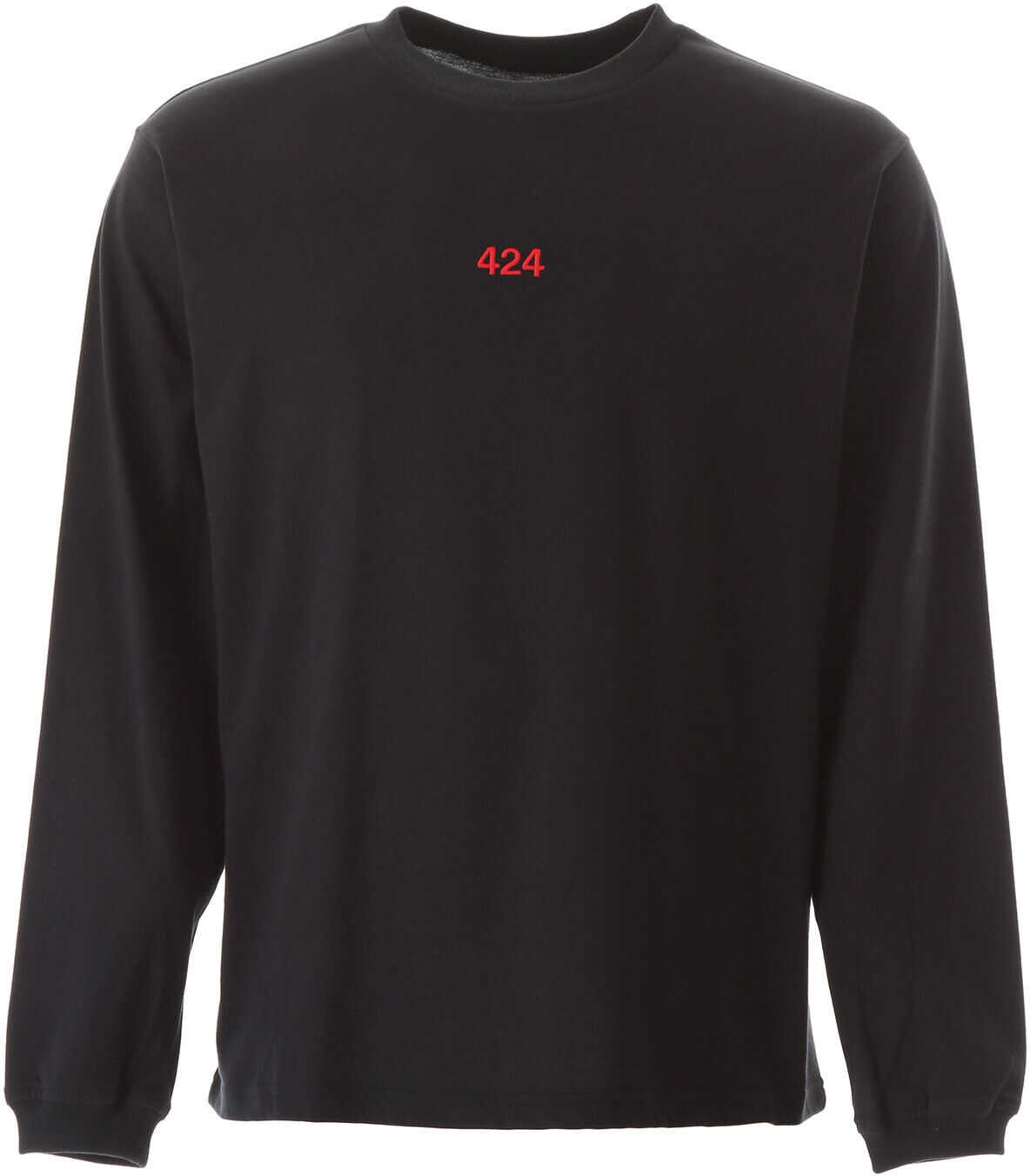 424 Long-Sleeved T-Shirt BLACK