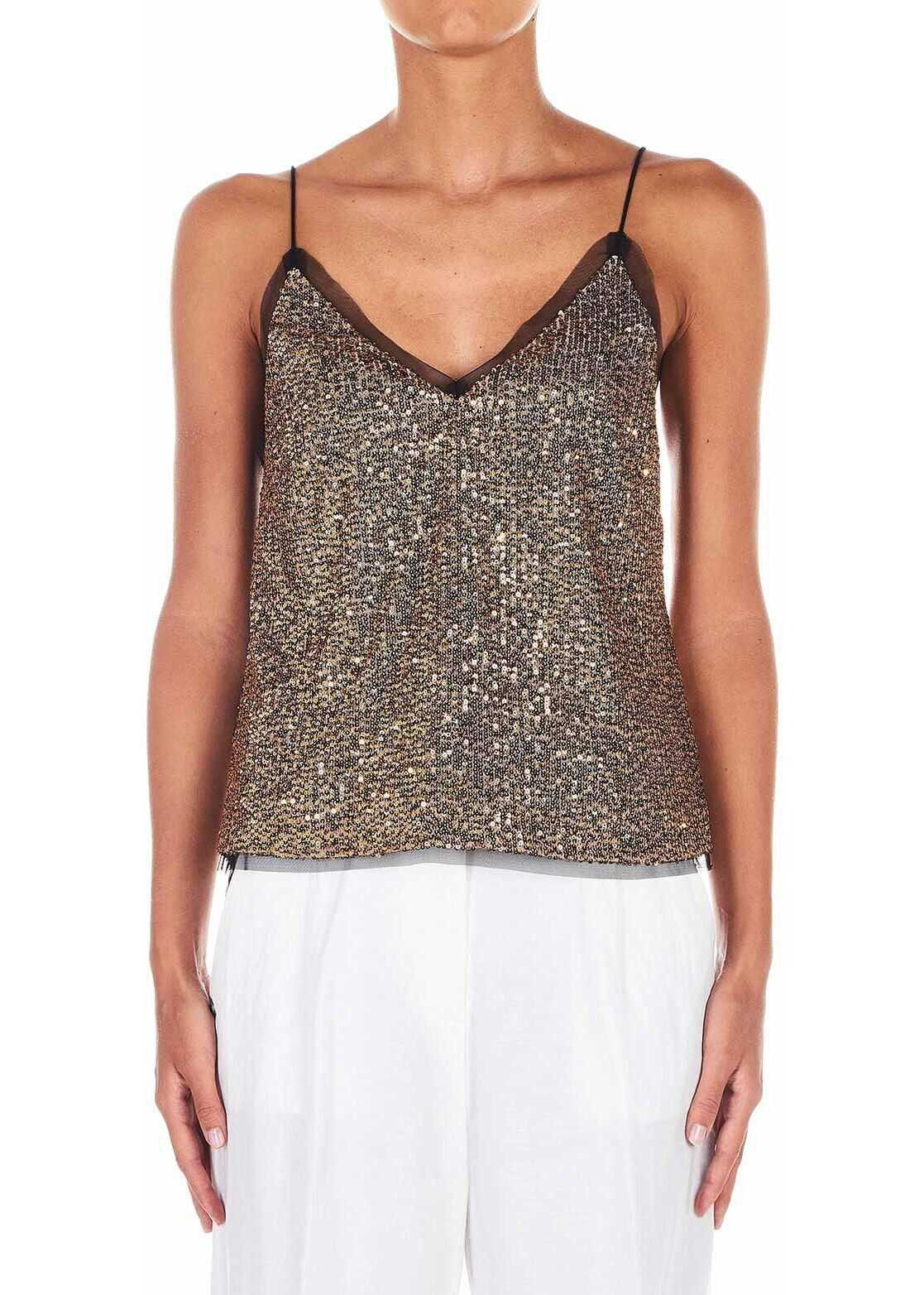 Liu Jo Top with sequins* Gold