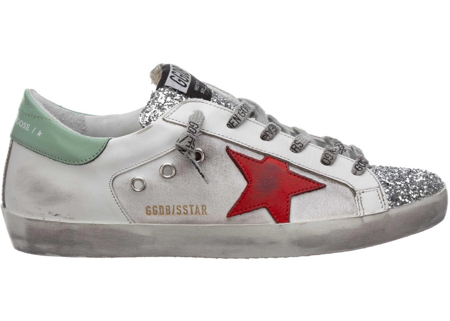 Golden Goose Sneakers Superstar White