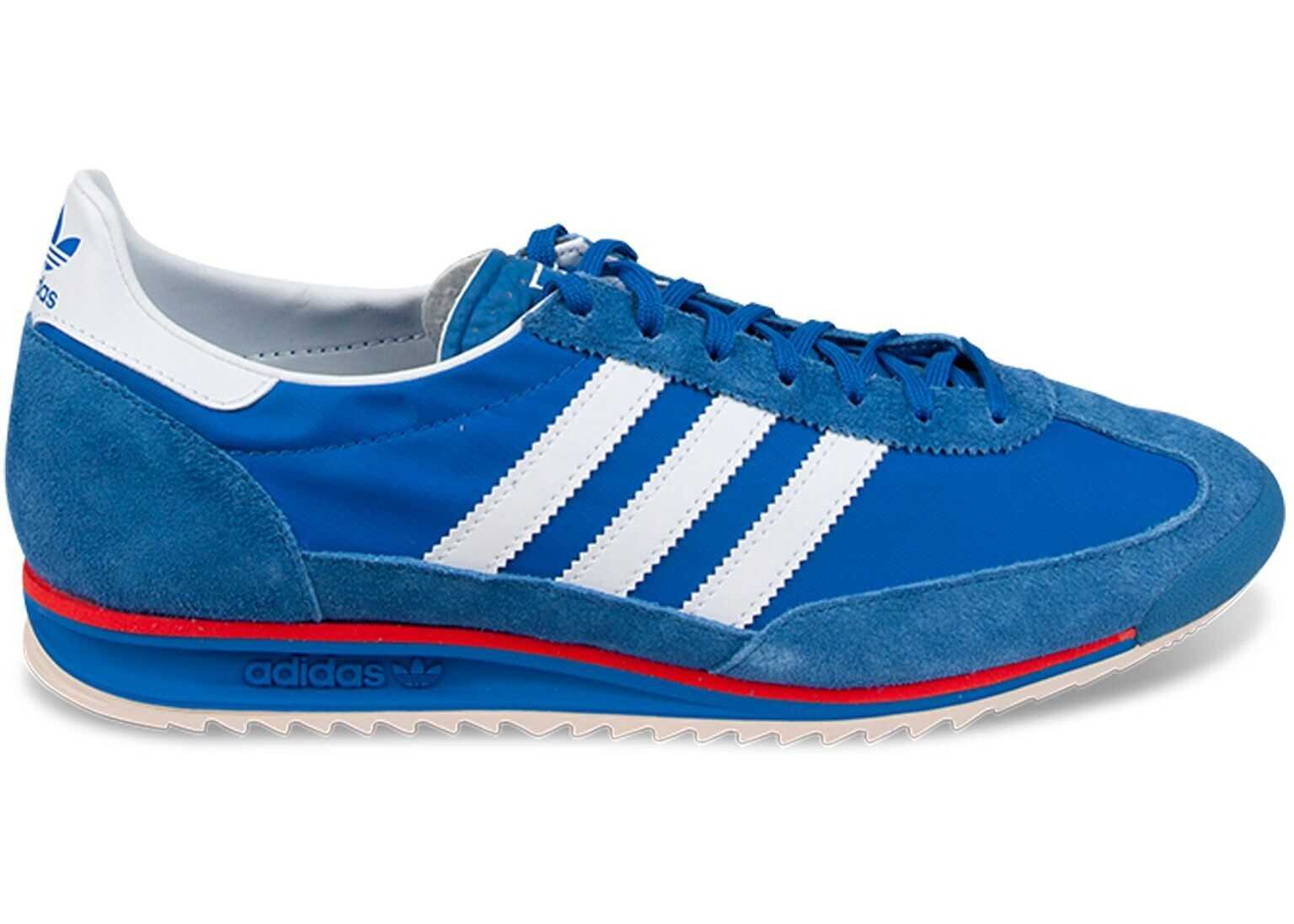 adidas Synthetic Fibers Sneakers BLUE