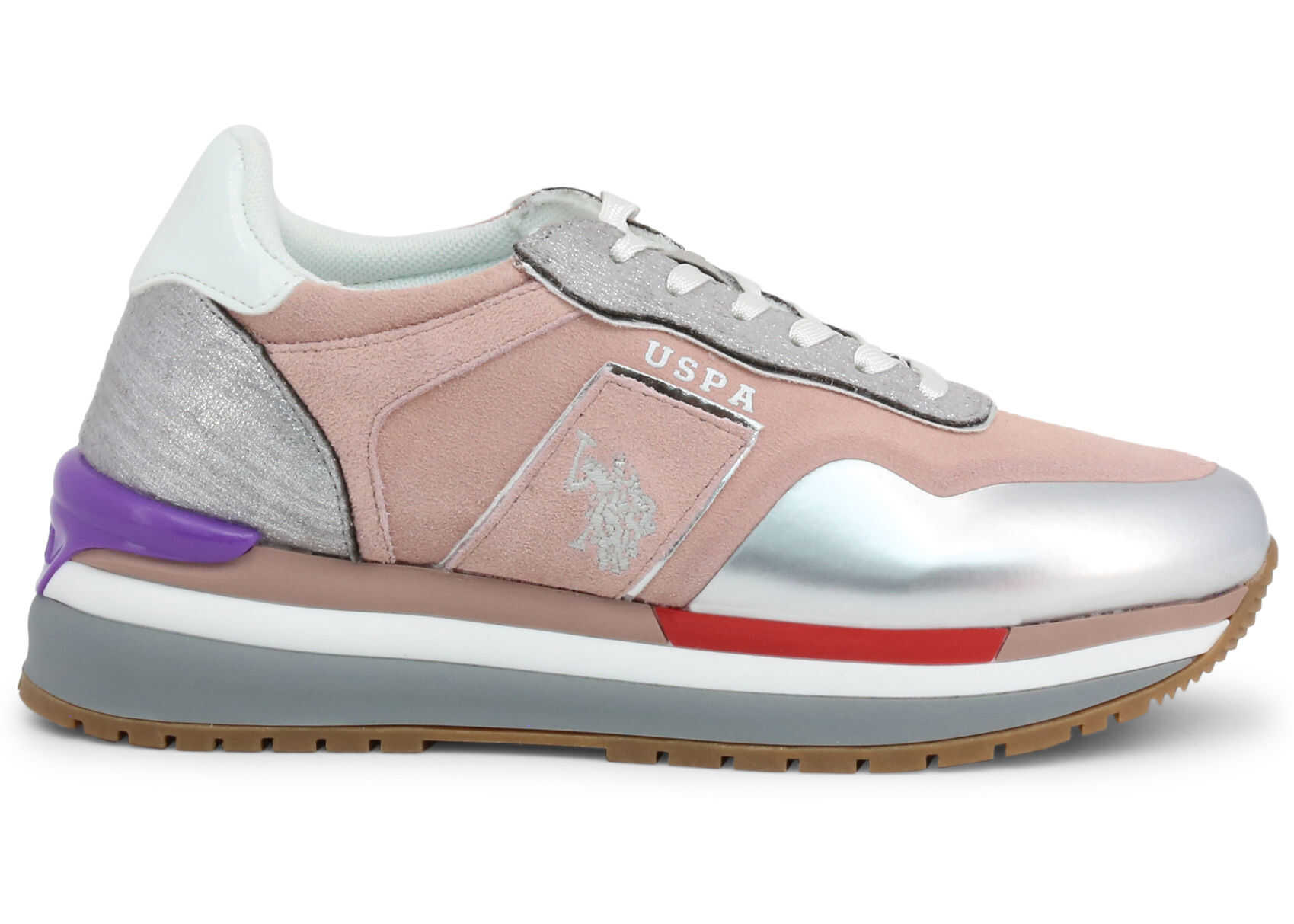 U.S. POLO ASSN. Cher4195S0_Sy1 PINK imagine b-mall.ro