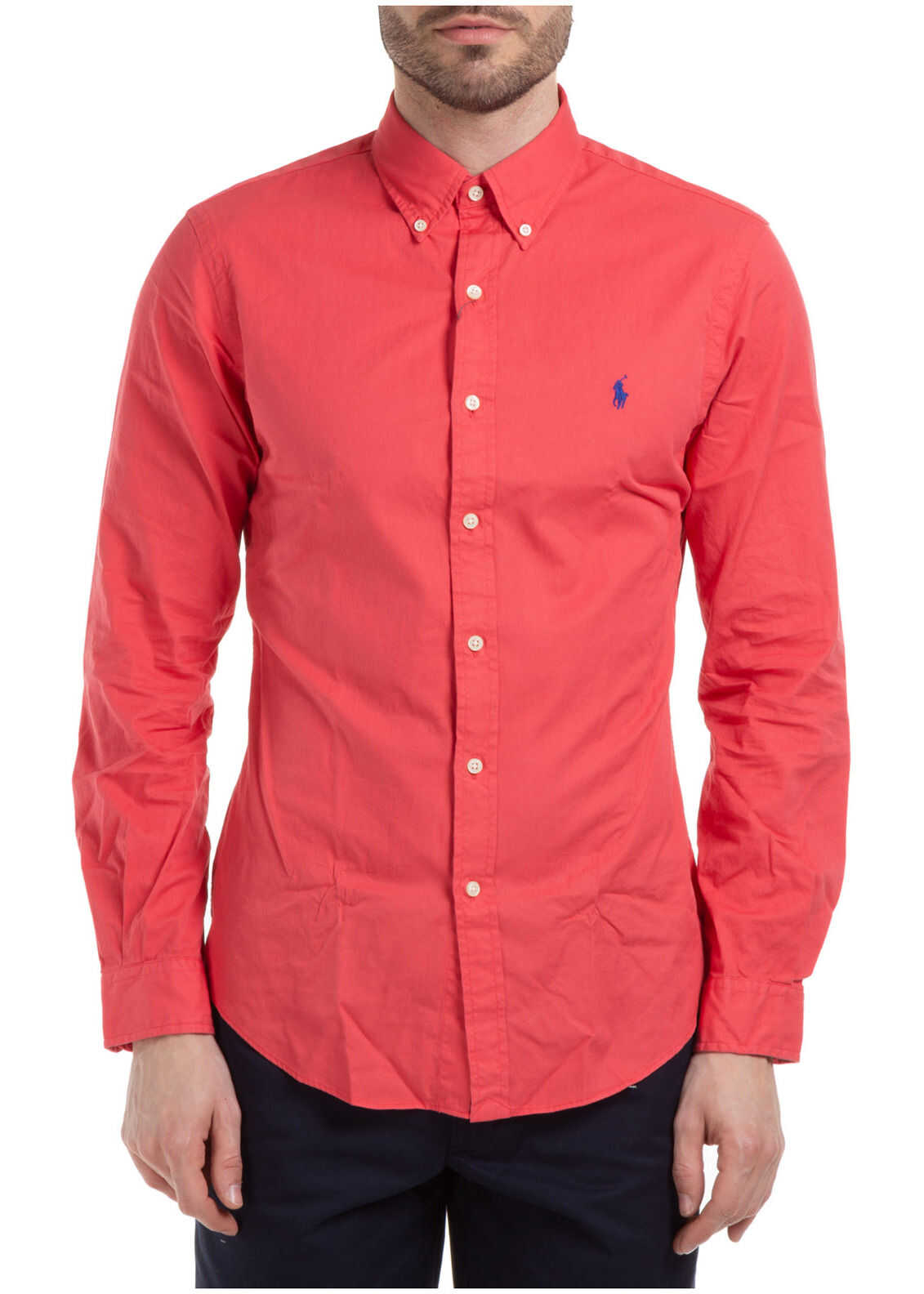 Ralph Lauren Dress Shirt* Red