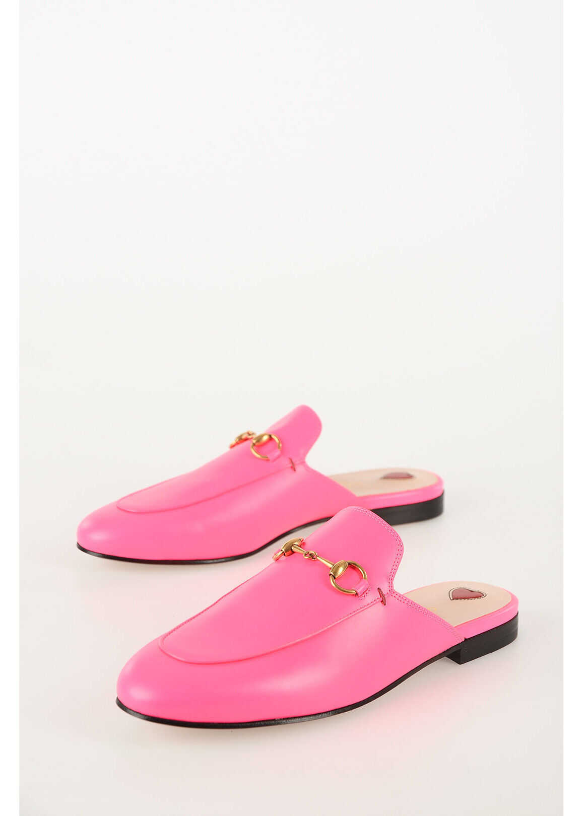 Gucci Leather Sabot PINK