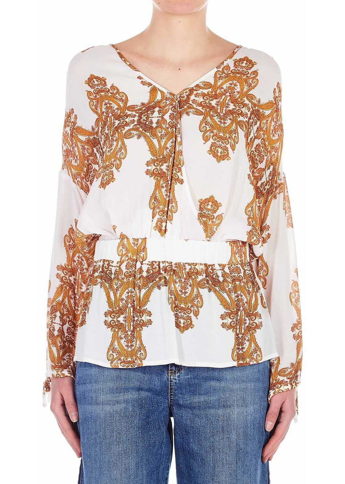 Silvian Heach Blouse with paisley-print