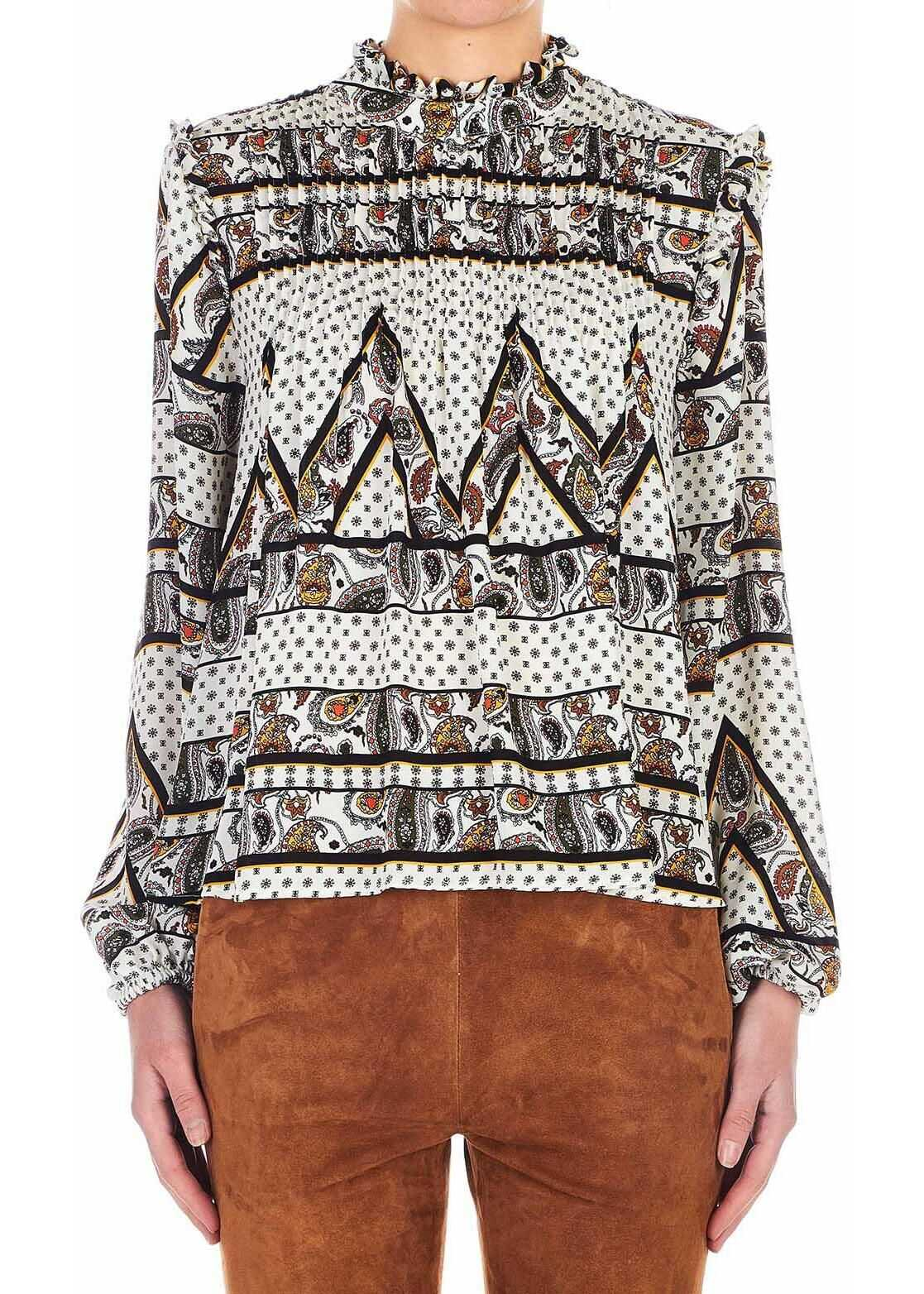 Silvian Heach Blouse with paisley-print Multicolor