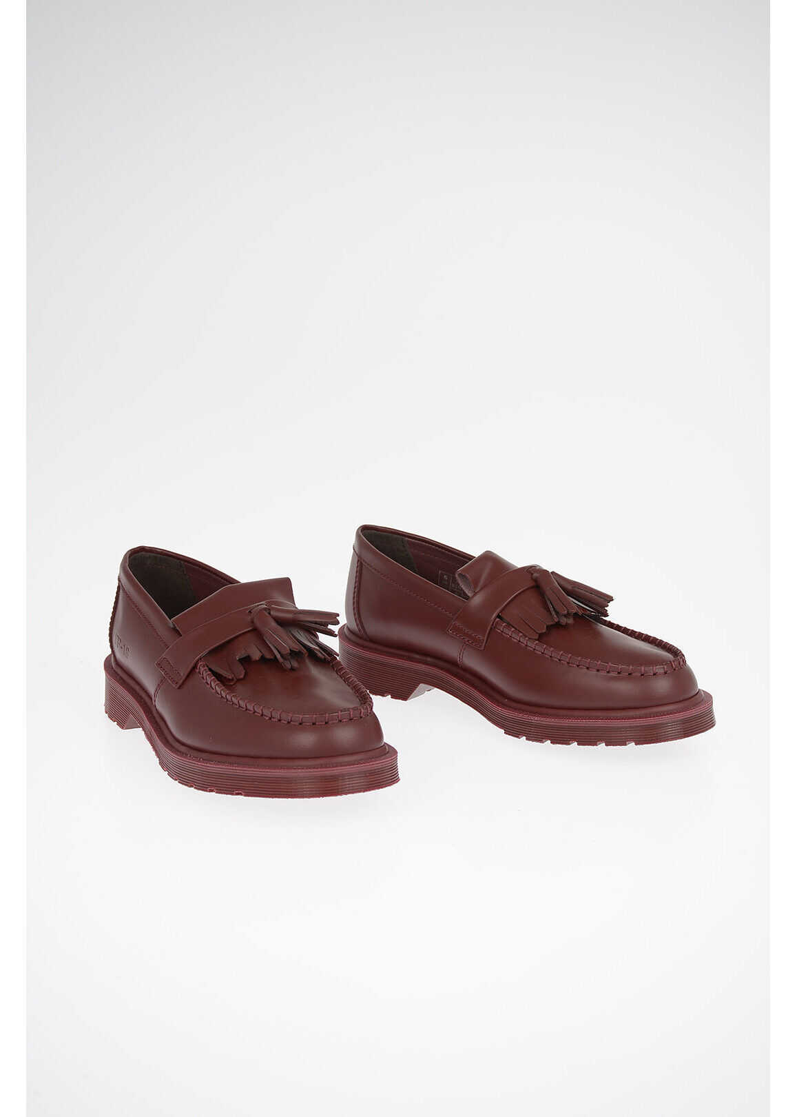 Dr. Martens GOSHA RUBCHINSKIY Leather ADRIAN Loafers RED