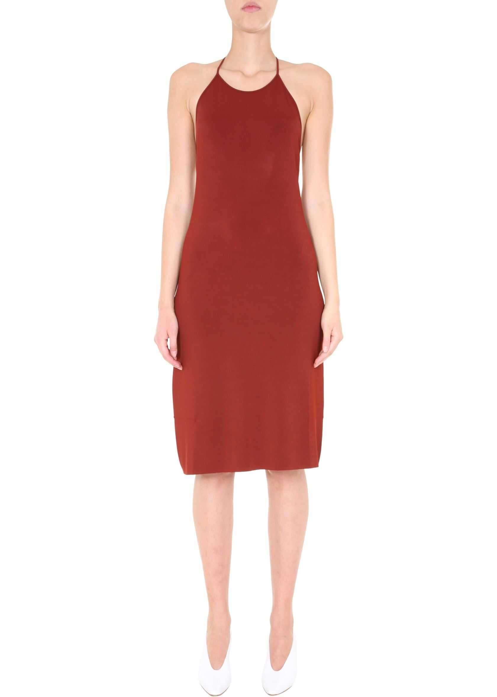 Bottega Veneta Jersey Dress ORANGE