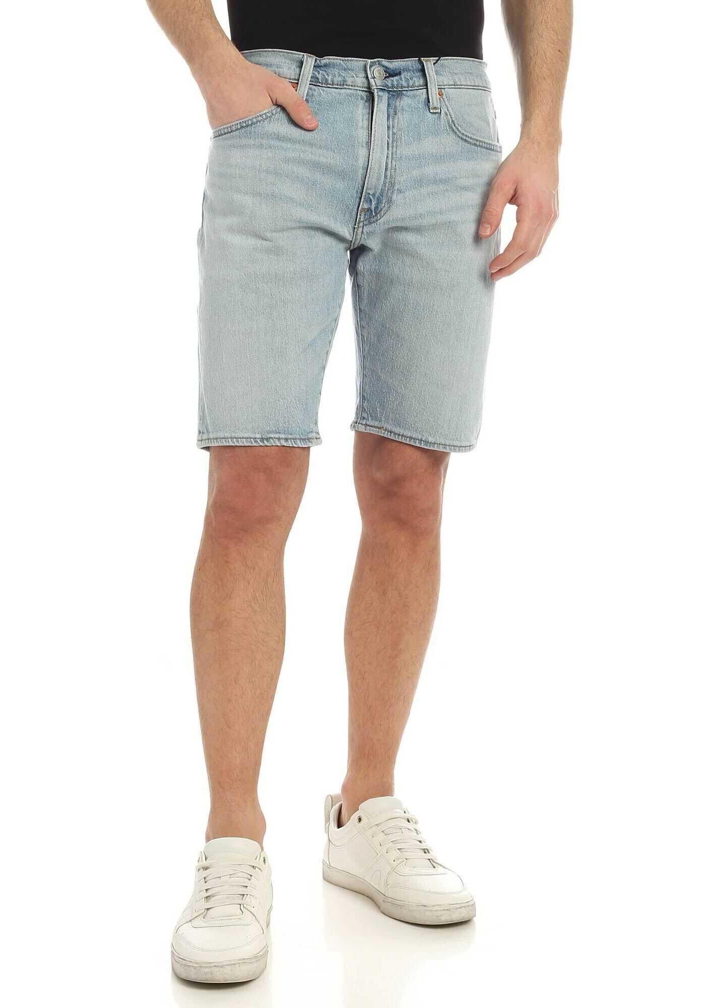 Levi's® 502™ Taper Denim Shorts In Light Blue* Light Blue