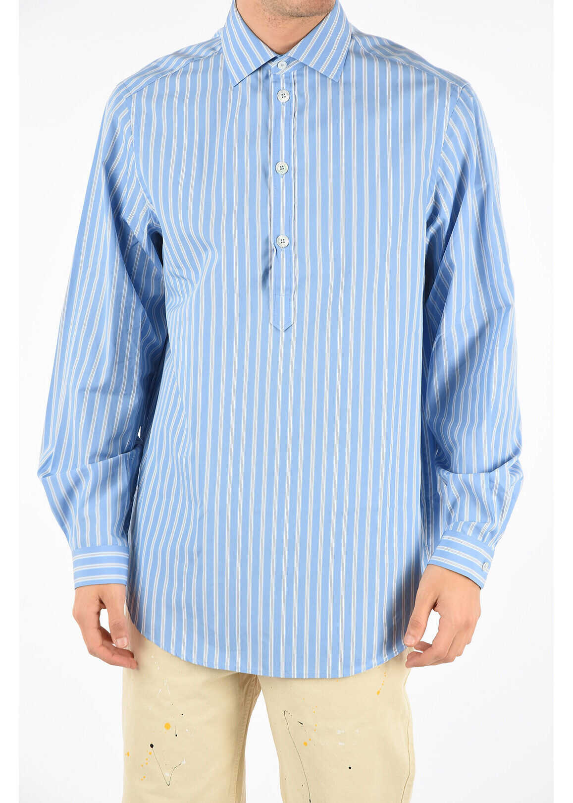 Gucci Striped Shirt WHITE