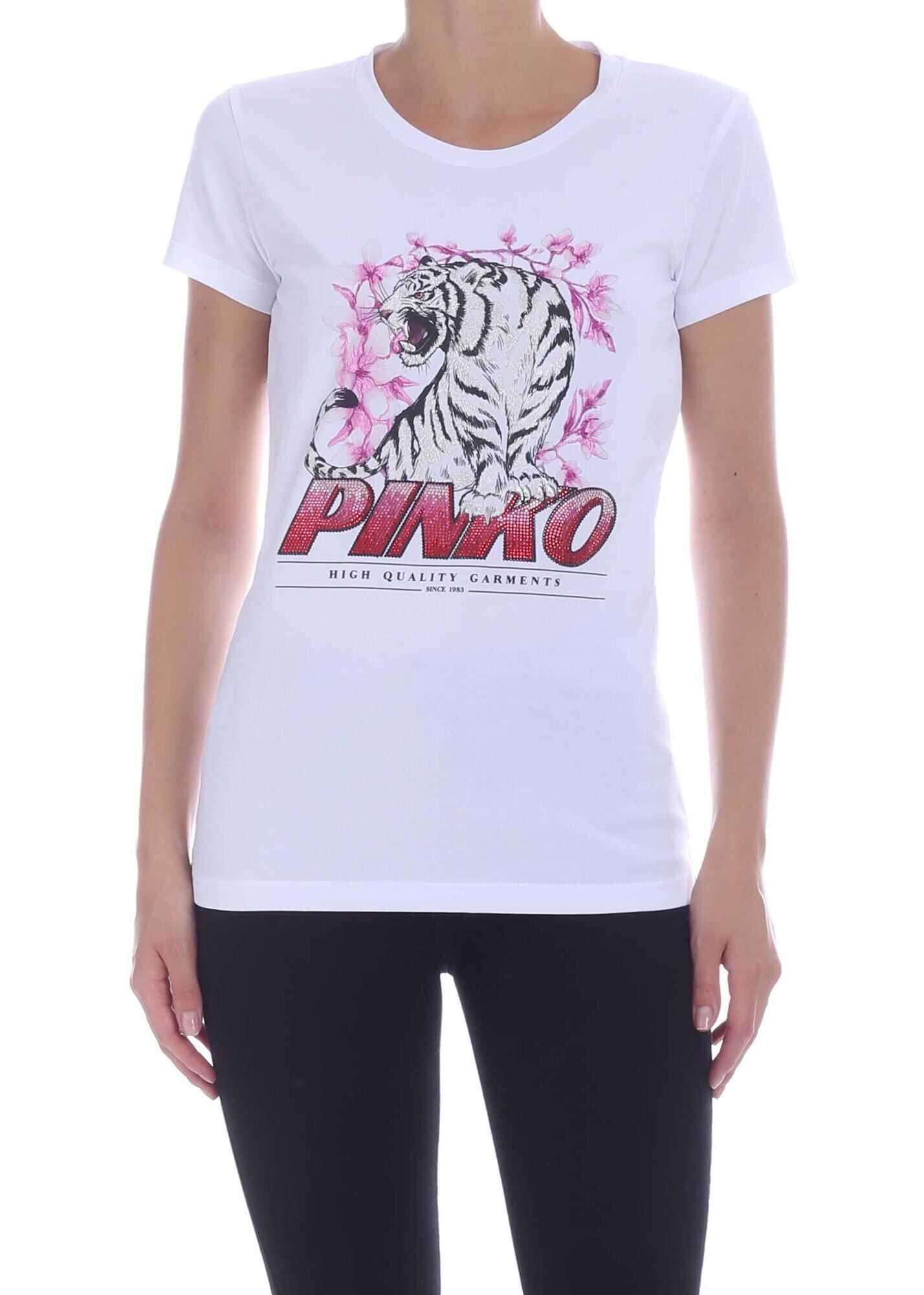 Pinko Pimpi T-Shirt In White White