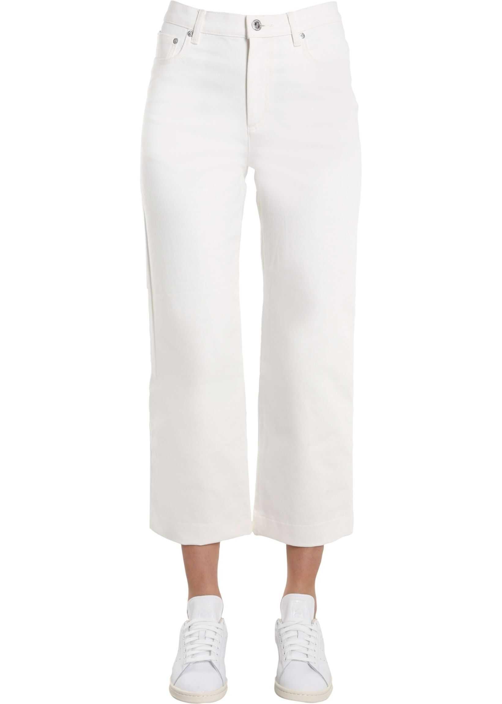 A.P.C. Sailor Fit Jeans WHITE