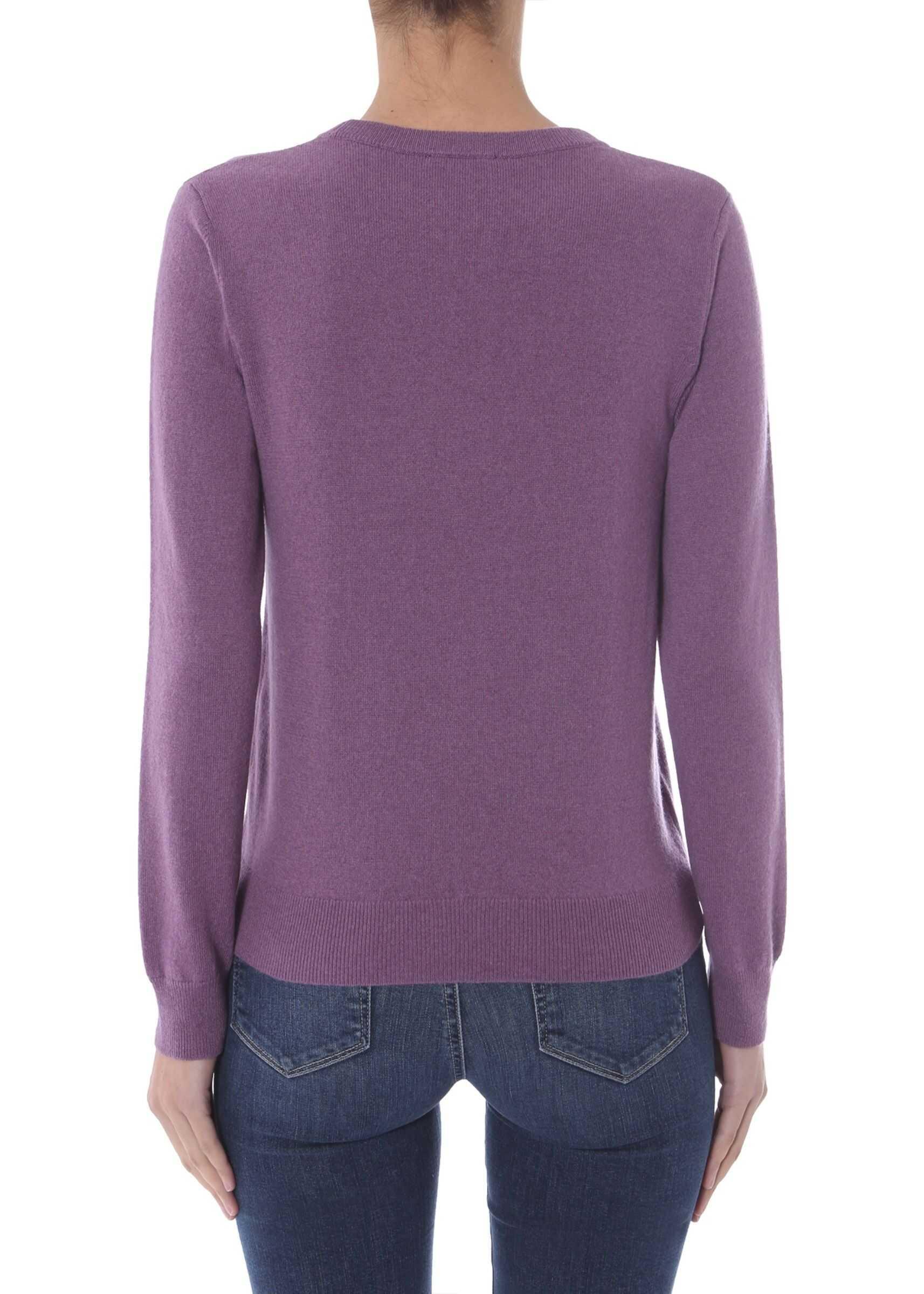 A.P.C. Crew Neck Sweater LILAC