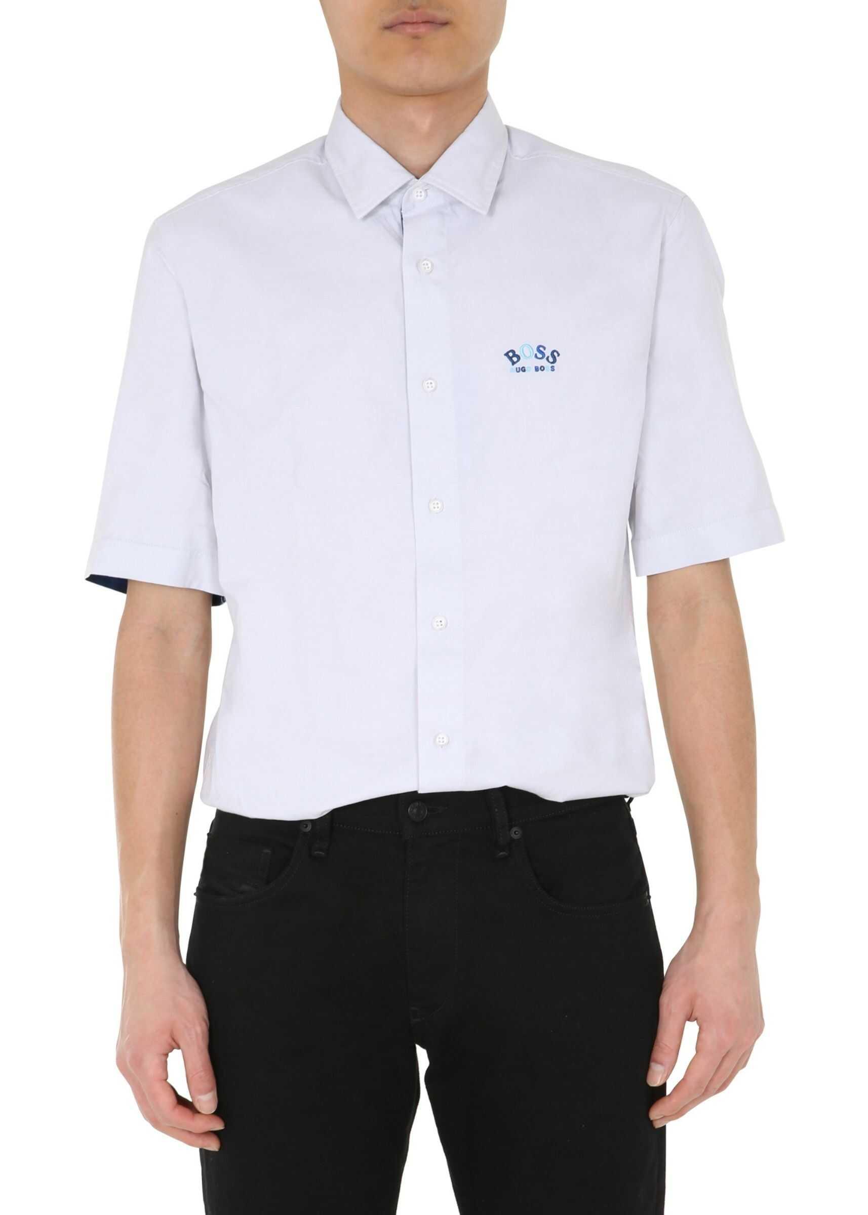 "BOSS ""Bruny"" Shirt WHITE imagine"