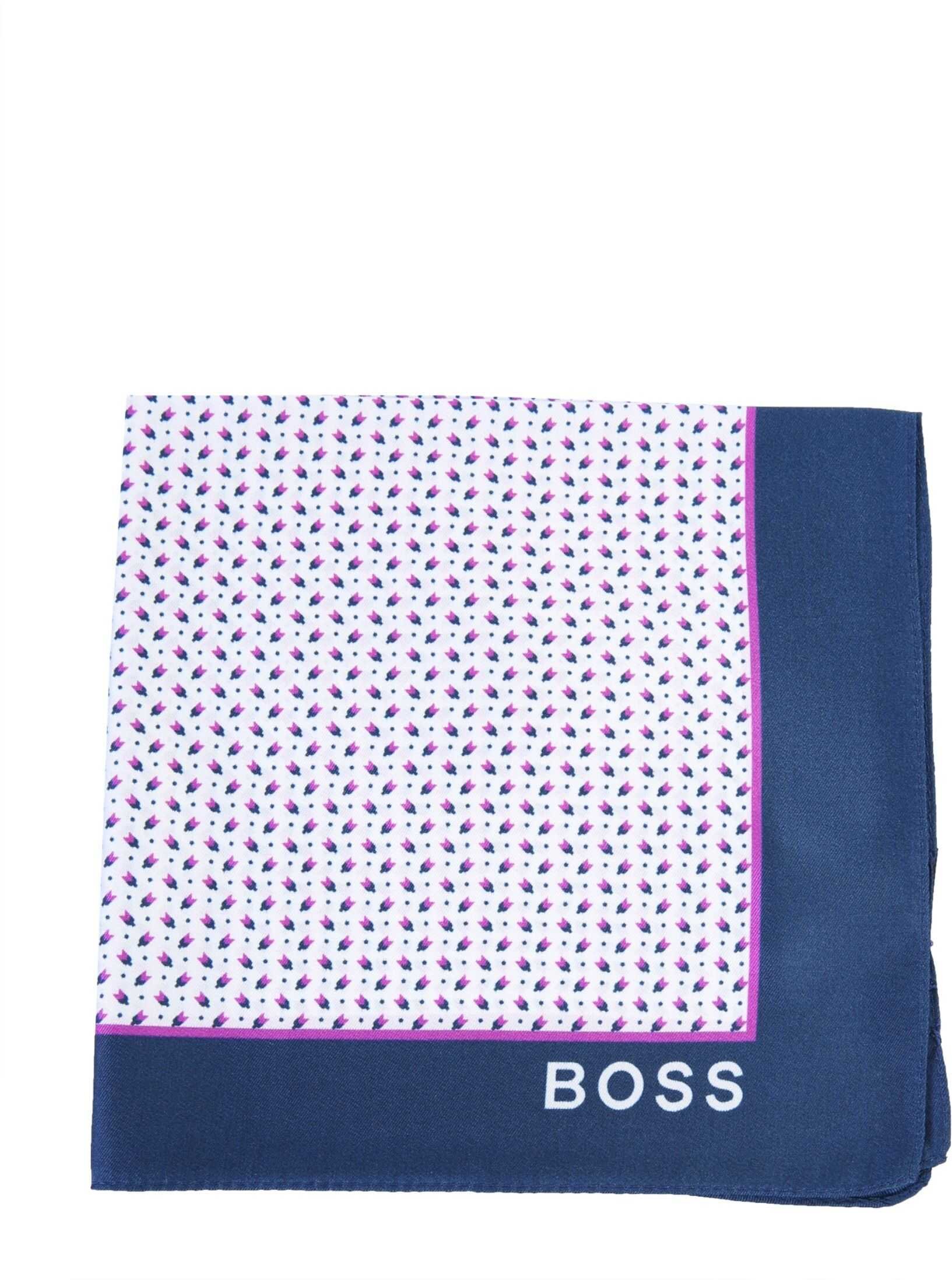 BOSS Printed Scarf PINK