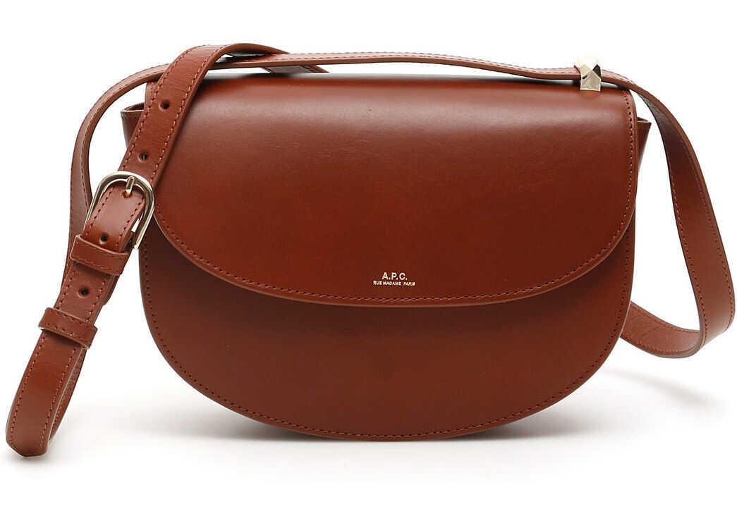 A.P.C. A.p.c. Geneve Crossbody Bag NOISETTE