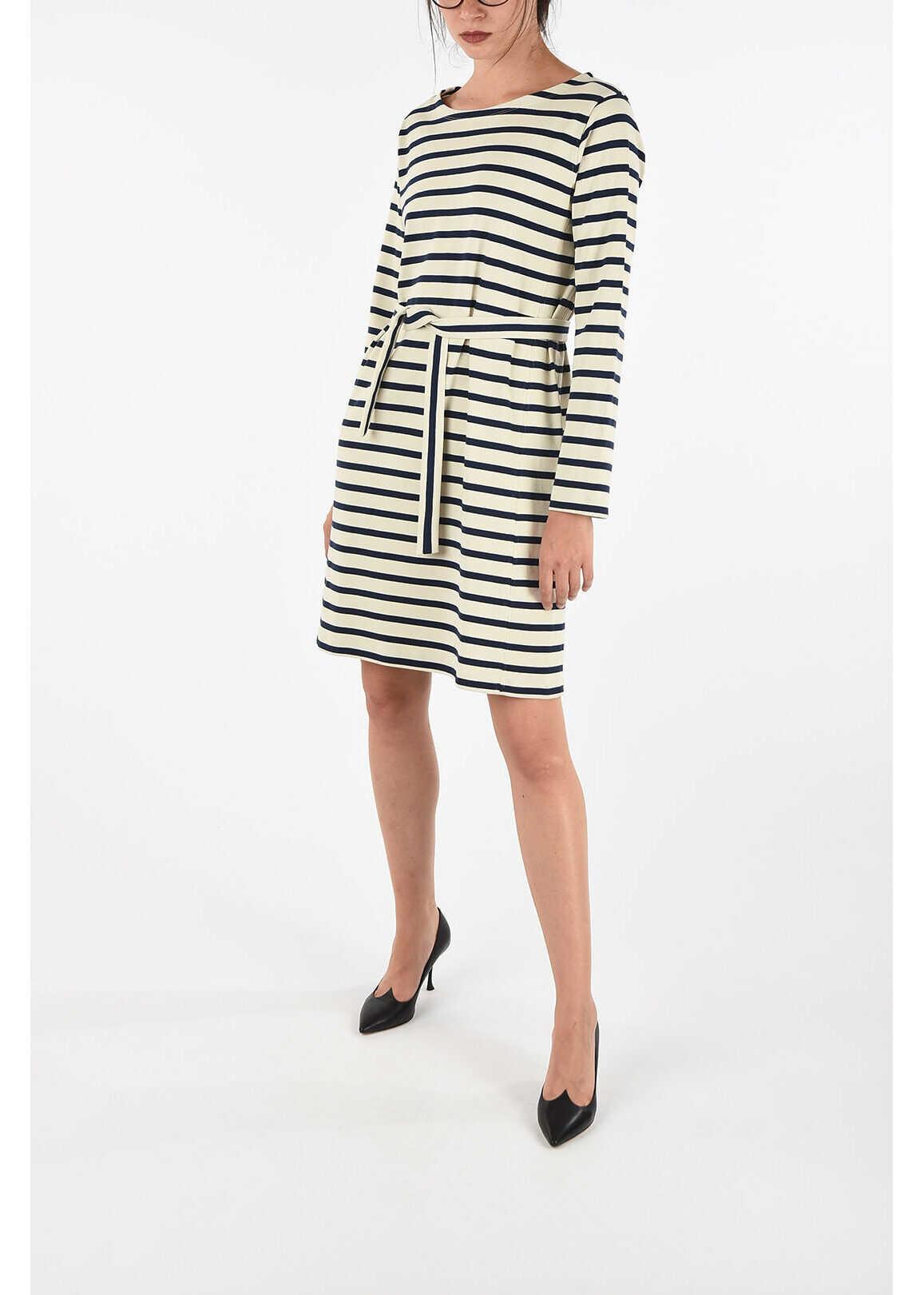 A.P.C. Striped Tunic Dress MULTICOLOR