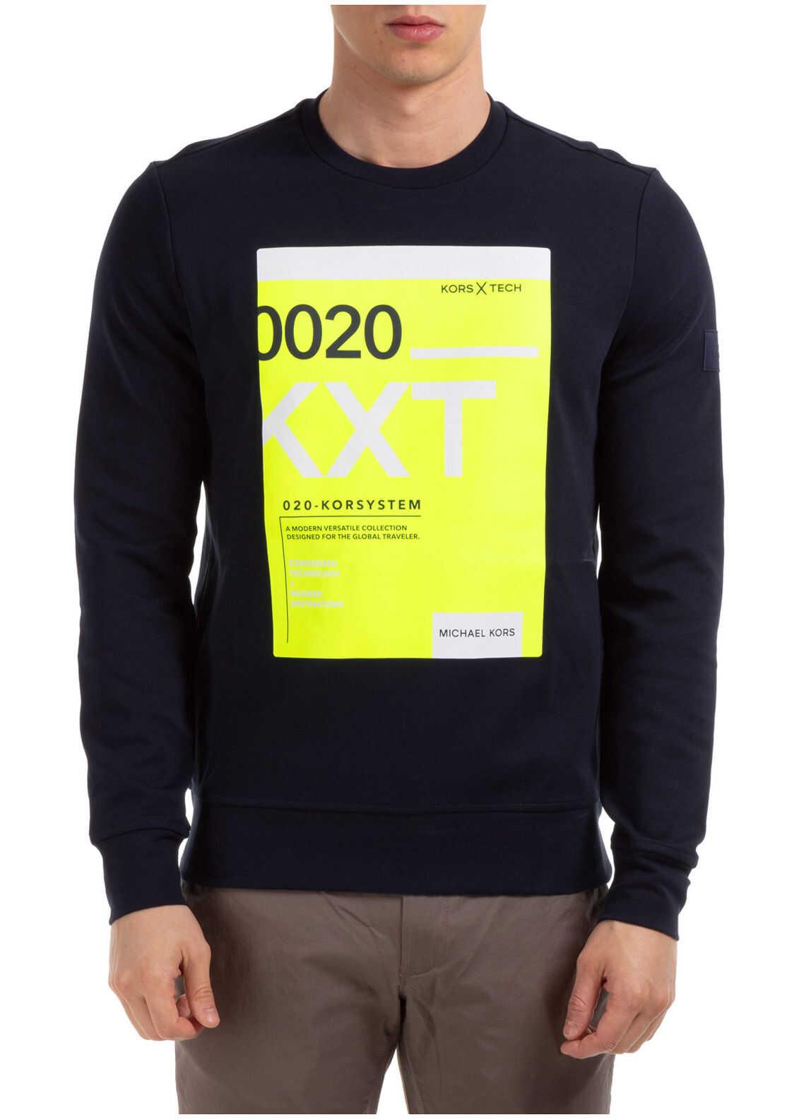 Michael Kors Sweatshirt Sweat Blue imagine