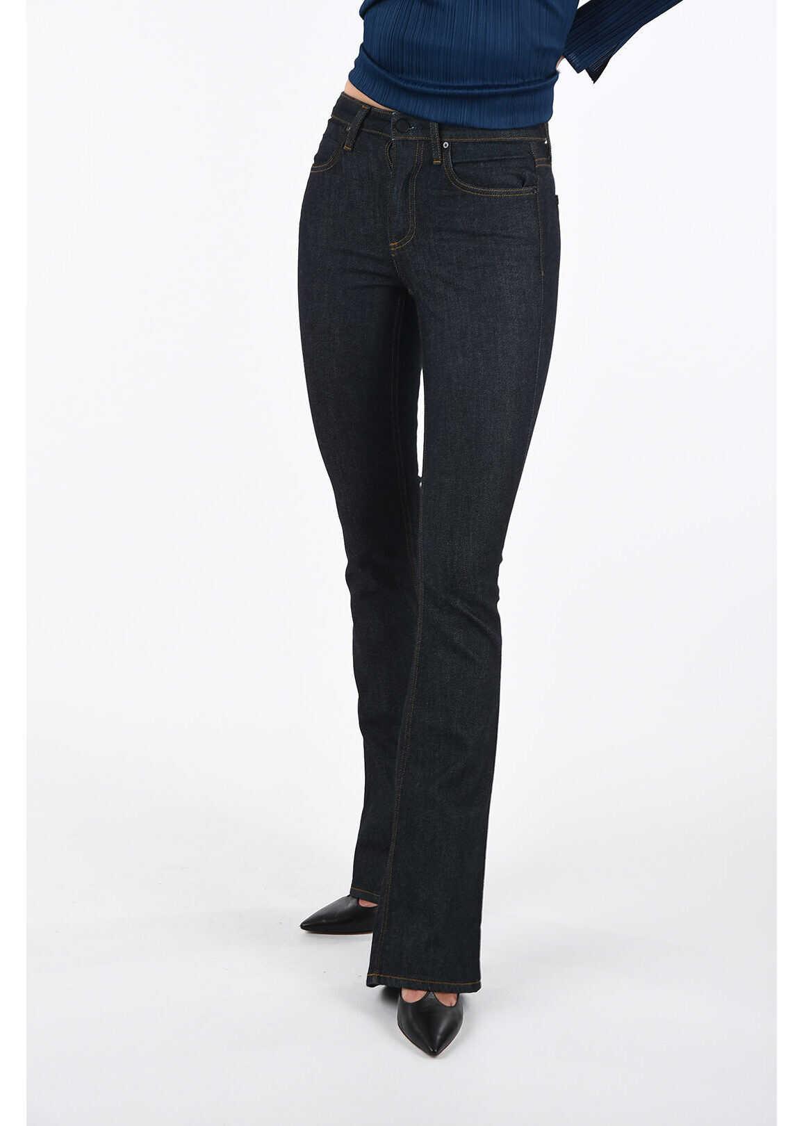 Alexander Wang X Boot Cut IDOL Jeans BLUE