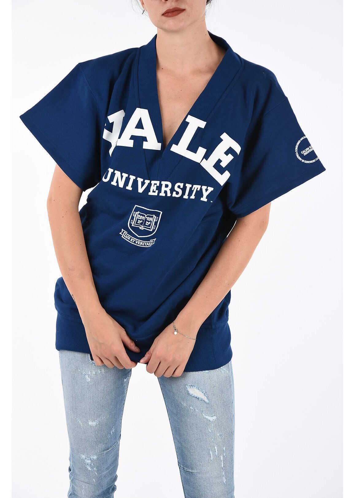 Calvin Klein 205W39NYC YALE UNIVERSITY Sweat T-shirt BLUE