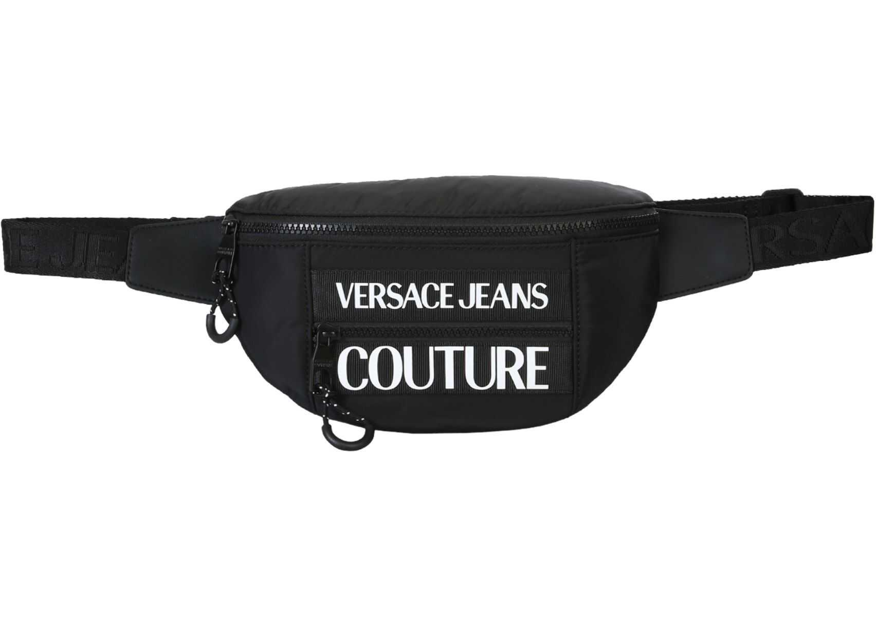 Versace Jeans Couture Sling Bag With Logo BLACK
