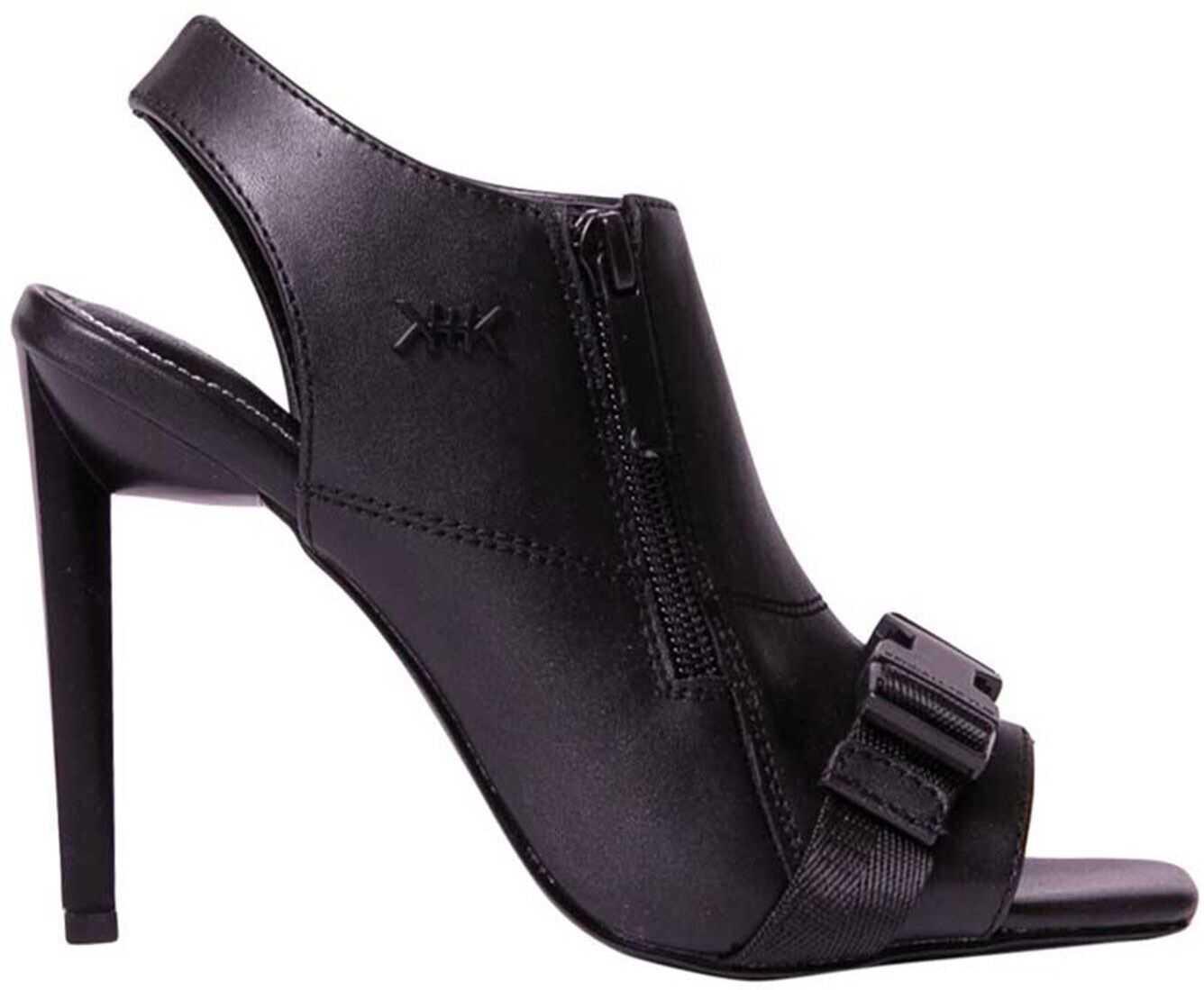 Zeno Sandals In Black