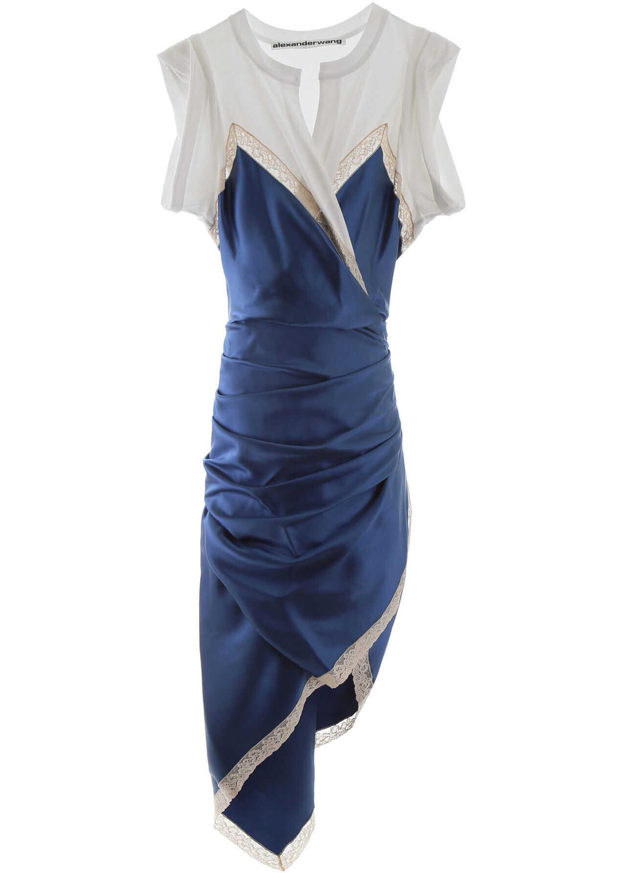 Alexander Wang Hibrid Dress PETAL BLUE