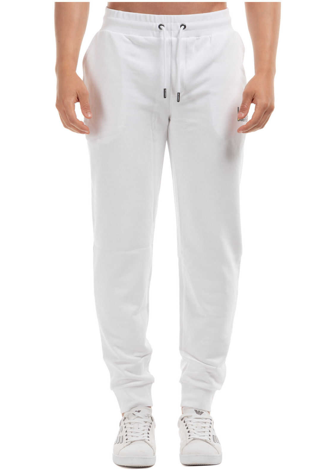 Karl Lagerfeld Tracksuit Trousers White