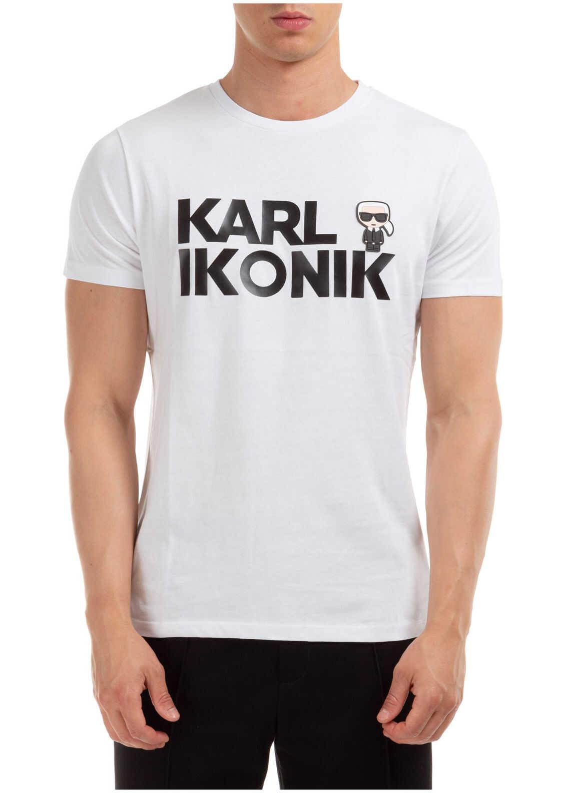 Karl Lagerfeld Jumper Ikonic White