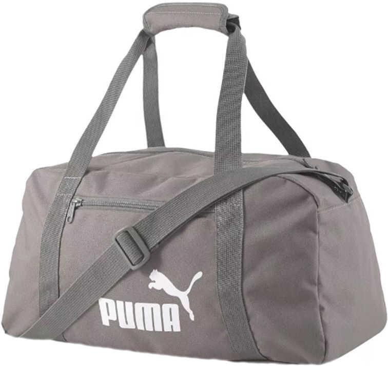 PUMA Phase Sports Bag Grey imagine b-mall.ro