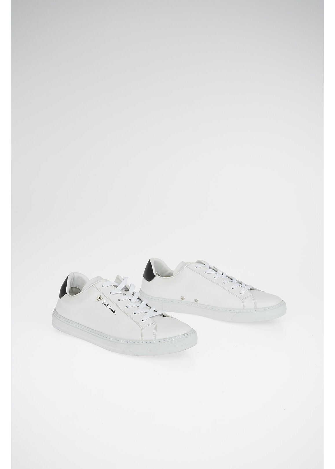 Paul Smith Leather HANSEN Sneakers WHITE