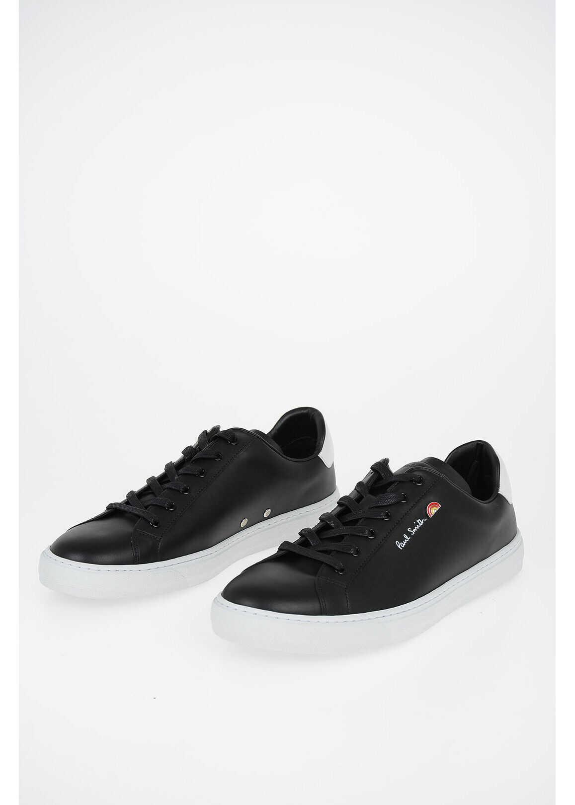 Paul Smith Leather HANSEN Sneakers BLACK