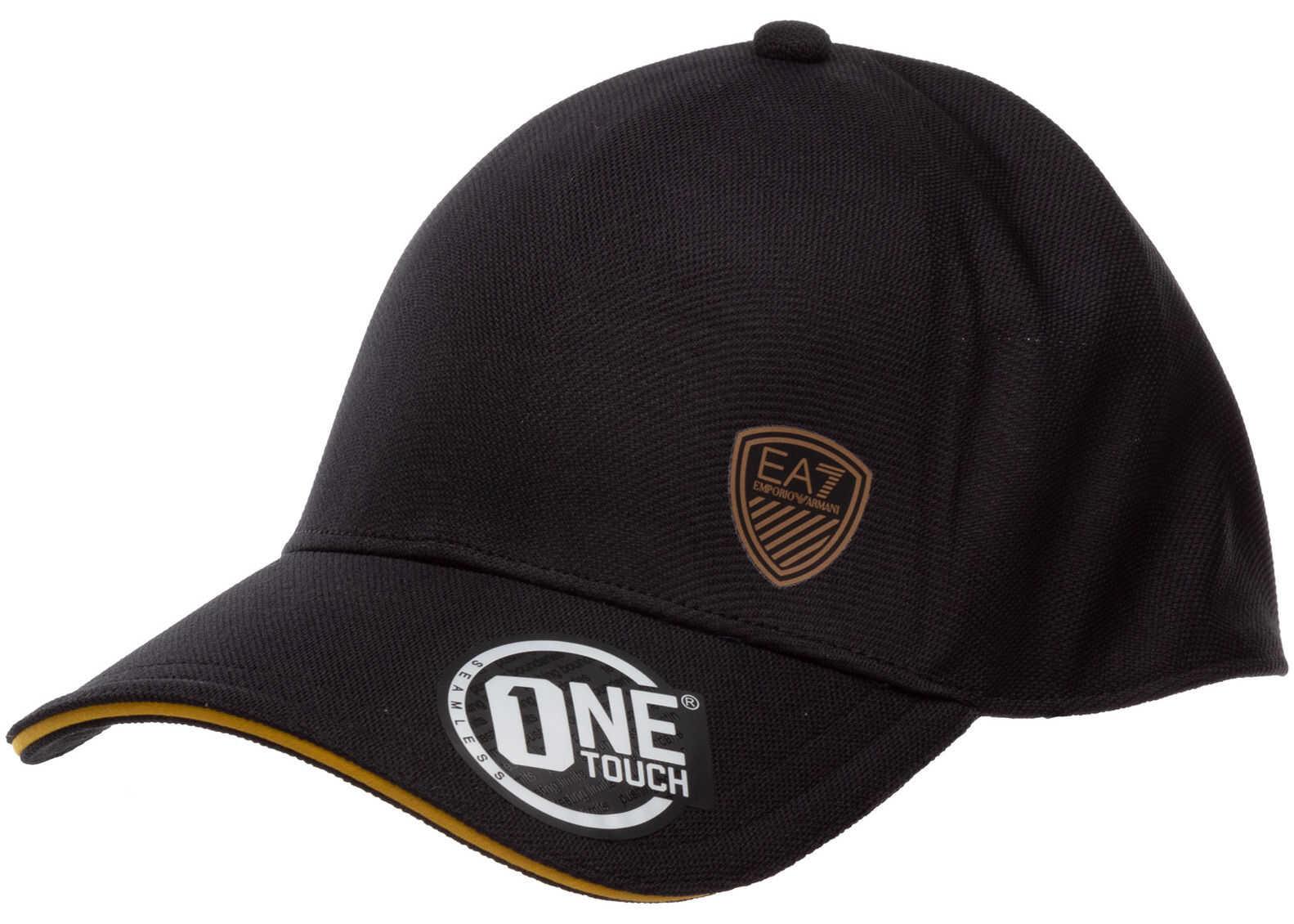 EA7 Baseball Cap Black