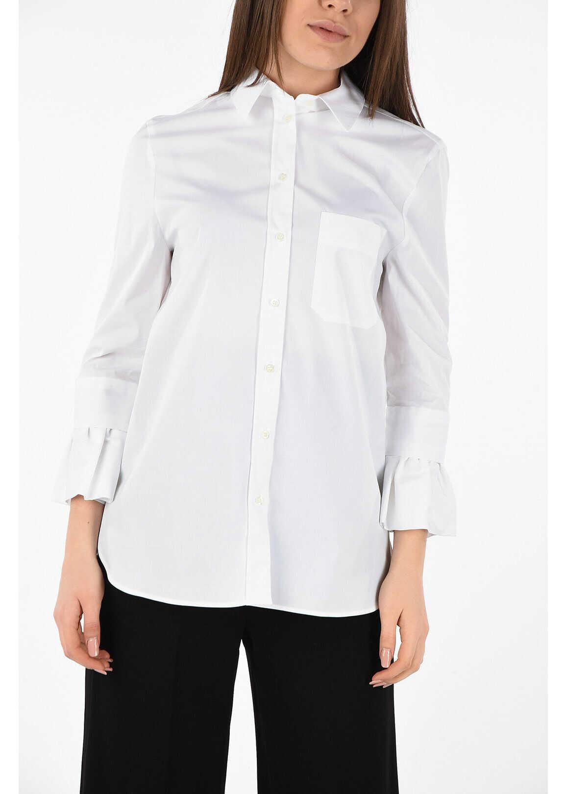 Neil Barrett Cotton Popeline Shirt WHITE